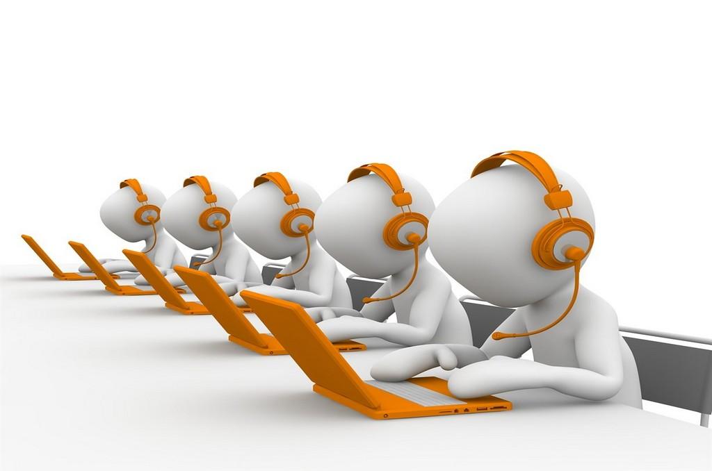call center agents 3D 2