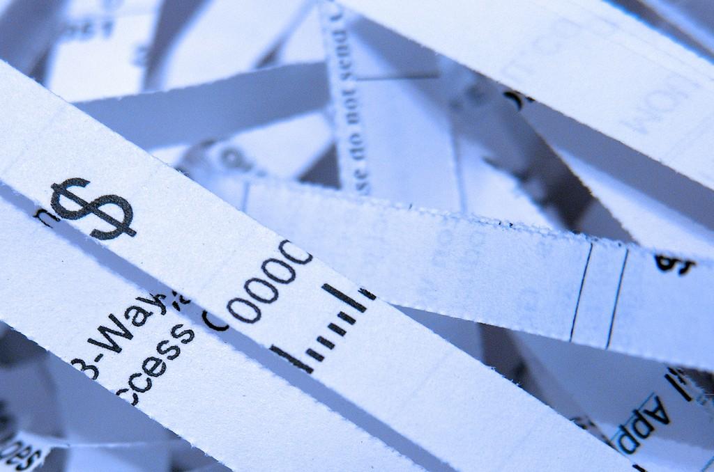 thin paper cuts