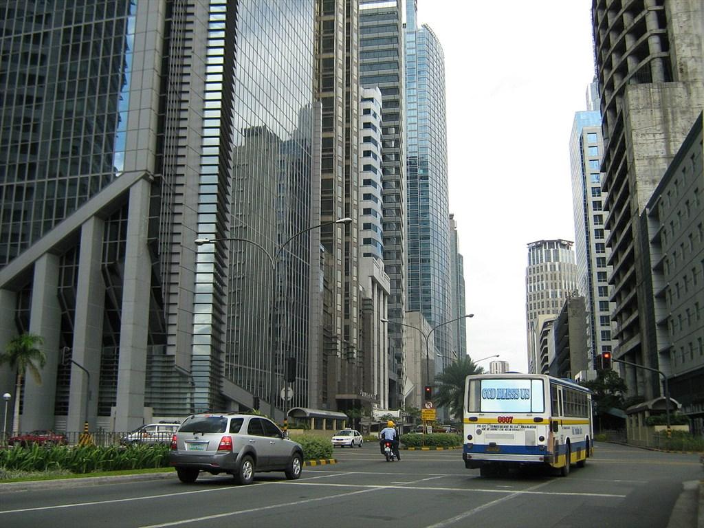Ayala avenue street scene
