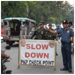 police check point