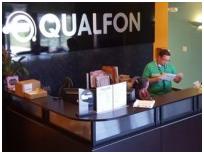 Qualfon lobby