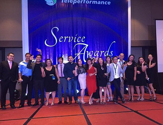 Teleperformance service awards