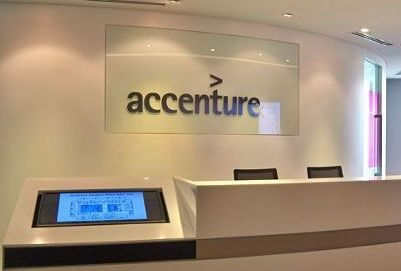 Accenture lobby