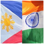 India and philippine flag