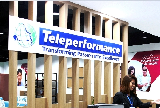 Teleperformance sign