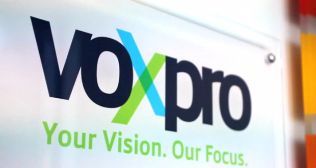 Voxpro sign