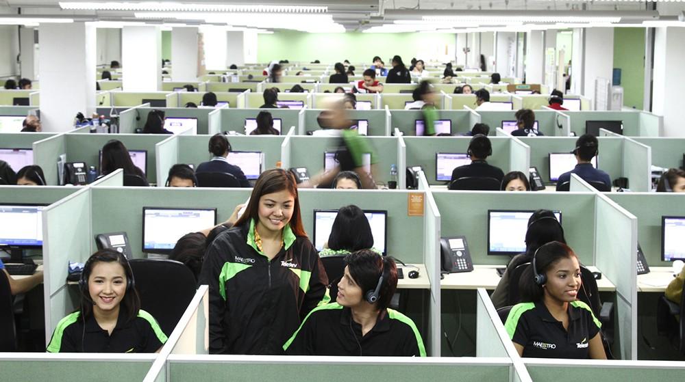 call center office