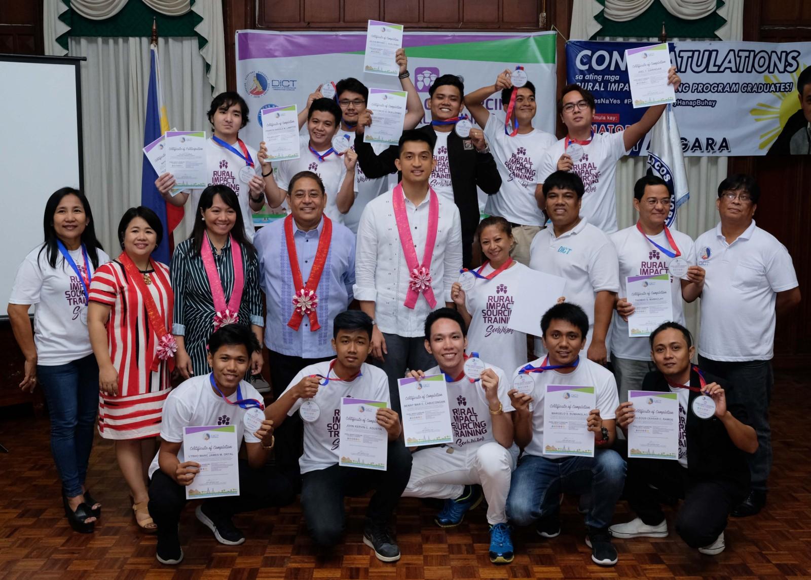 15 complete DICT's rural impact sourcing in Ilocos Norte
