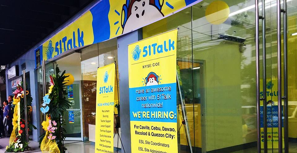 51Talk hiring 100,000 online English teachers