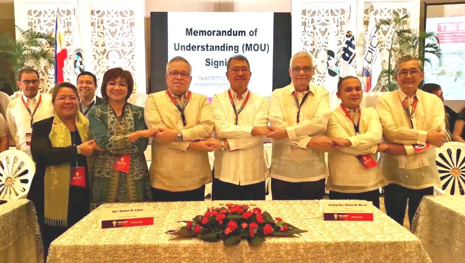 DOTC, DICT, DTI forge for tech startups