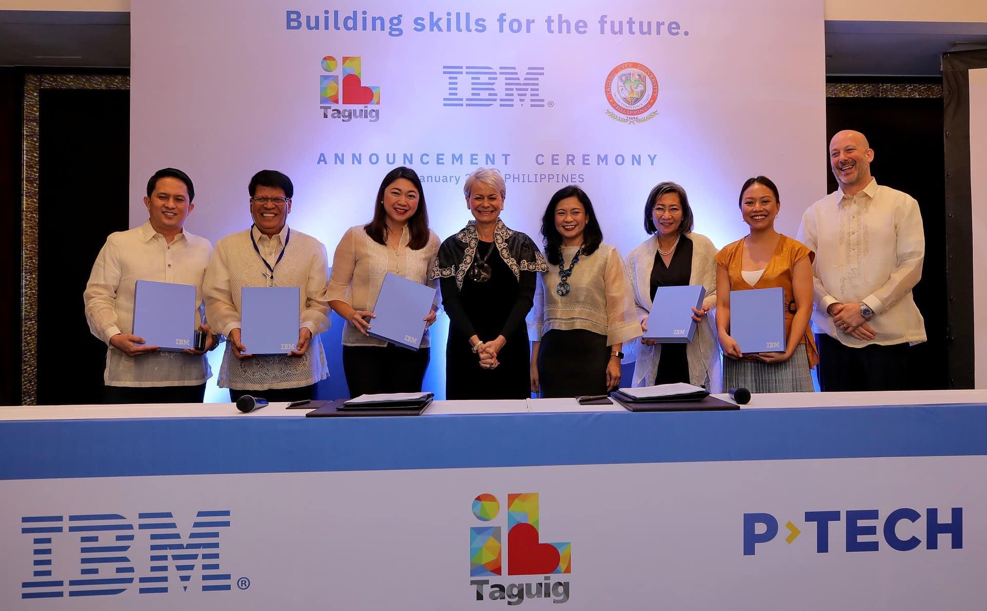 IBM picks Taguig university for tech education model 3