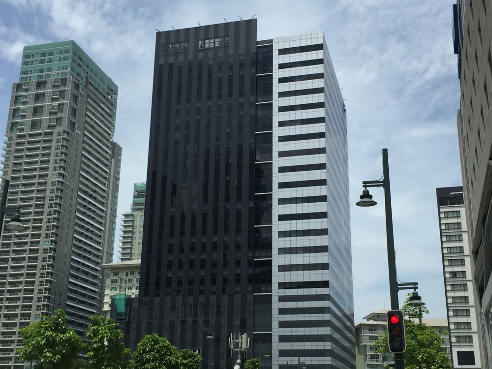 Another BGC building designated as IT center