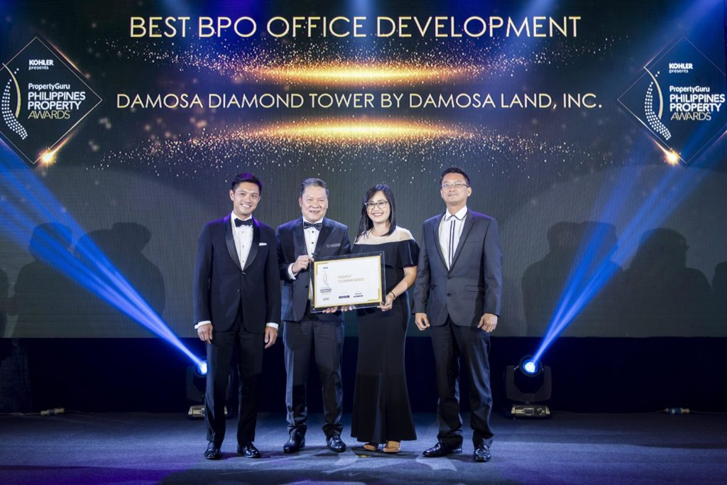 Damosa Land's New Office Tower Wins Awards