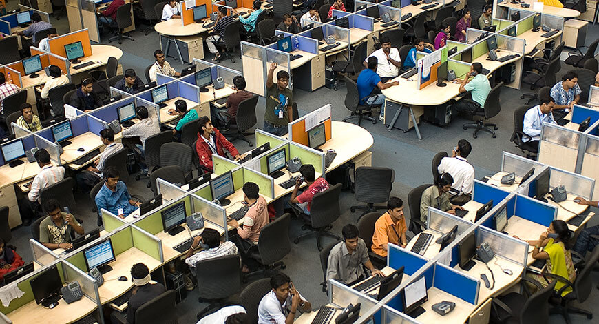 COVID-19 pandemic continues to disturb India's BPO sector