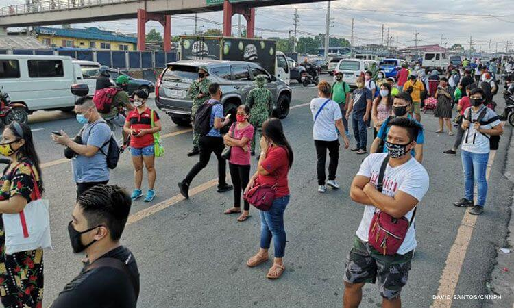 Workers brave Metro Manila commute on first day of GCQ