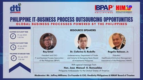 BPO industry to go online to promote the industry to the world