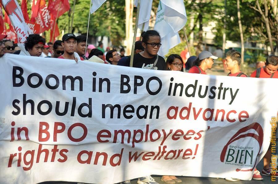 BPO workers seek end to 'floating status'