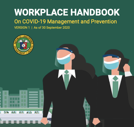 DOH releases first workplace handbook on COVID-19 management, prevention