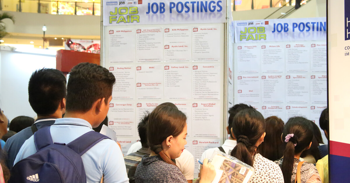Unemployment rate down to 10% by year end – DOLE