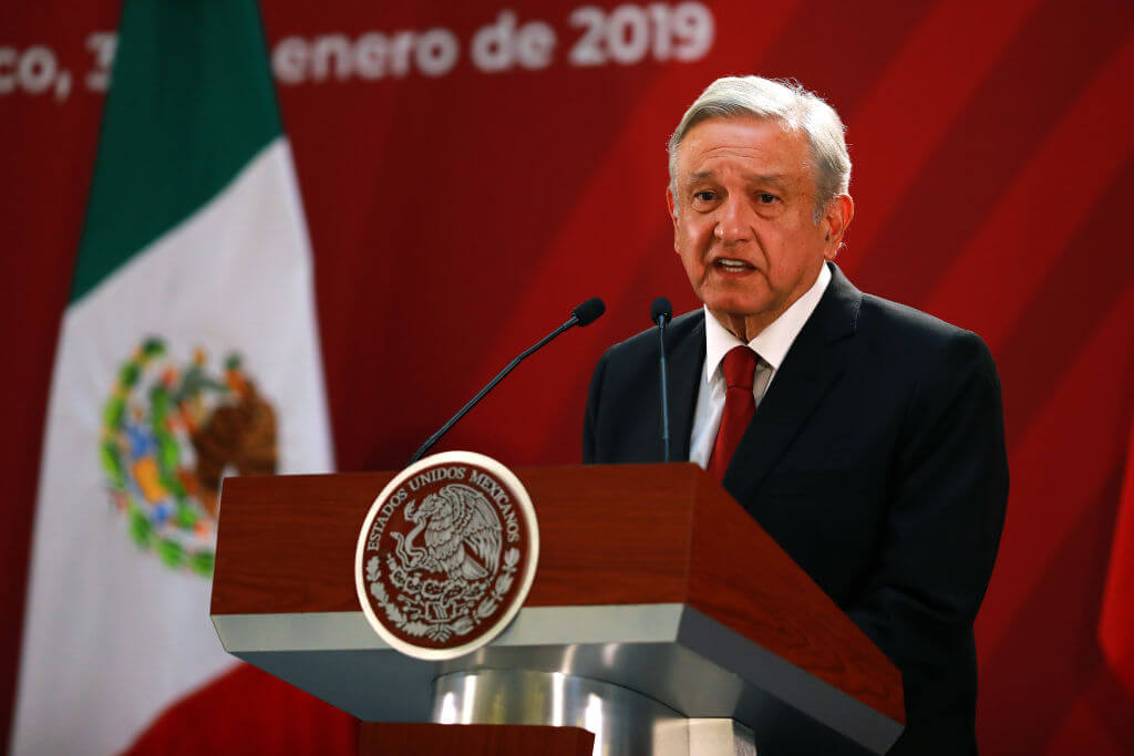 Mexican president to ban outsourcing of jobs