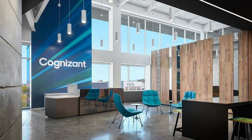 Cognizant's net drops for the first time