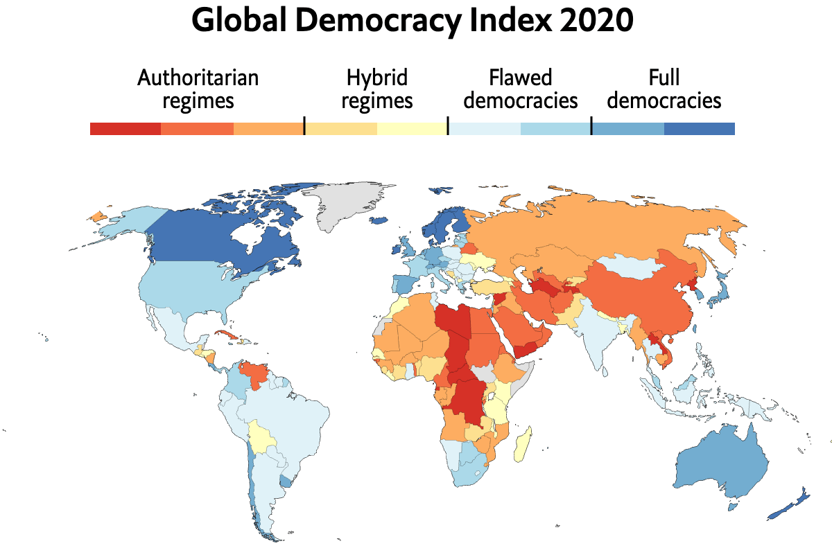 PH drops one spot in global democracy index