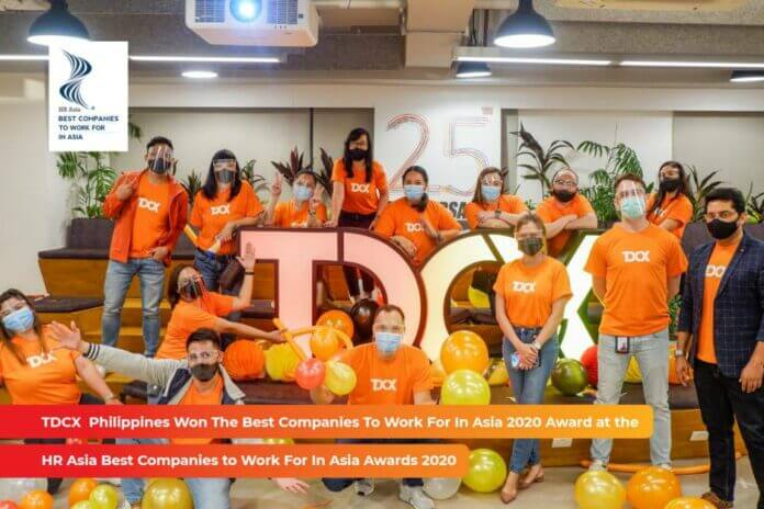 TDCX wins second Best Companies to Work For Award