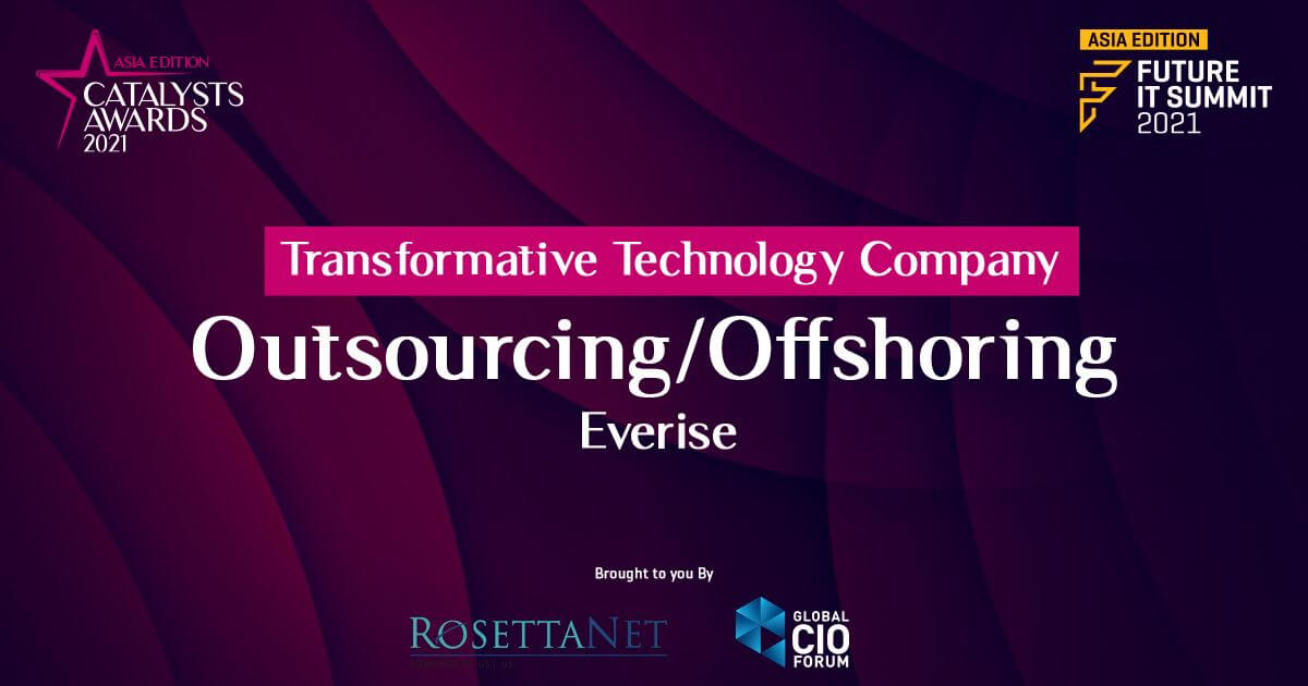 Everise wins Catalyst Company Award 2021 for transformative technologies