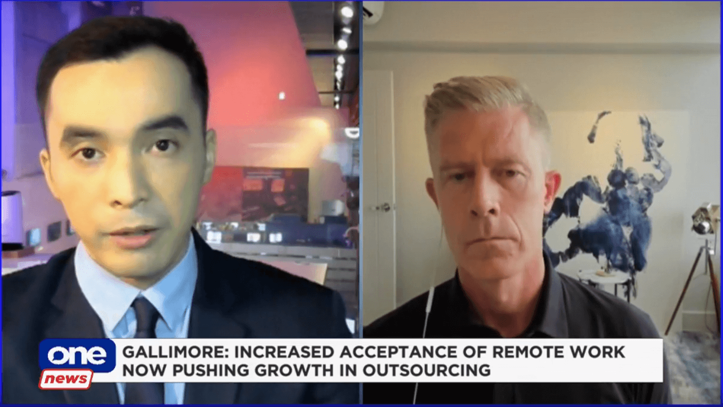 """Outsourcing industry """"absolutely booming"""" – OA CEO Derek Gallimore"""