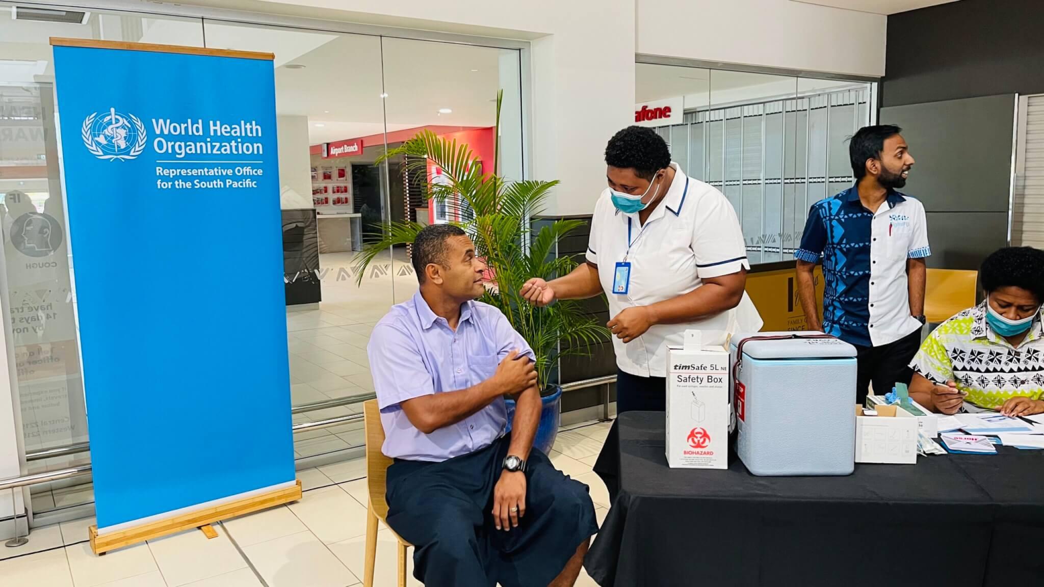 BPOs back Fiji's vaccination plan