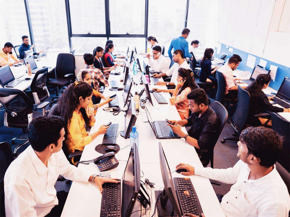 India's BPO hiring activity increased to 18%